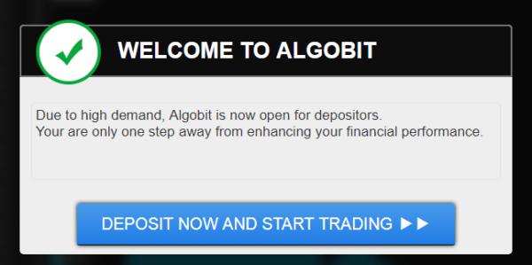 手順その2.アルゴビット「Algobit」にログインする